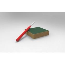 Nástroj na vyndavání závlaček (včetně dřevěného bloku)