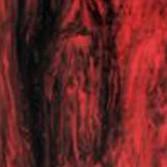 Červená žíhaná